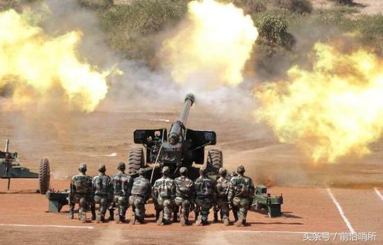 印度陆军火炮