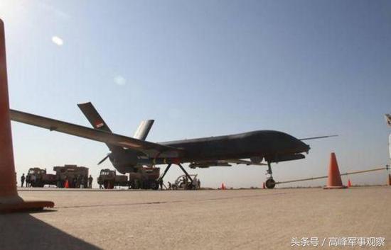 在伊拉克战场一炮而红的彩虹四无人机