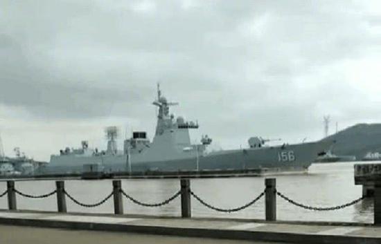 中国今年第10艘神盾舰下水 052D加长型已交付(图)