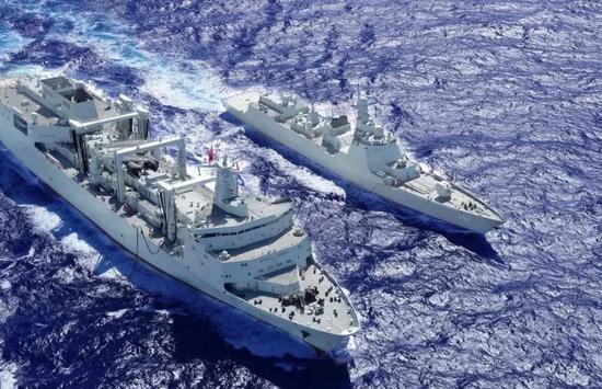 中国舰队逼近夏威夷?至少还相距1000海里以上