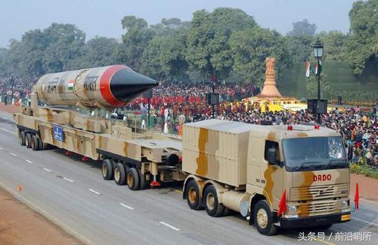 资料图:印度导弹