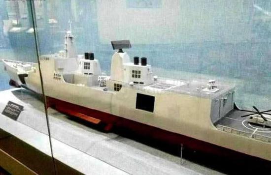 052E驱逐舰将首先运用电磁炮