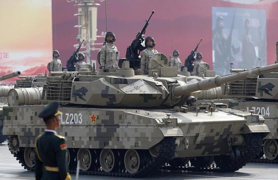 印媒罕见称赞中国15式坦克:让全世界都感到羡慕