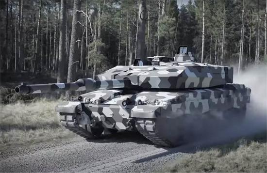真正能威胁99A的坦克出现!配超级火炮99A很难挡住