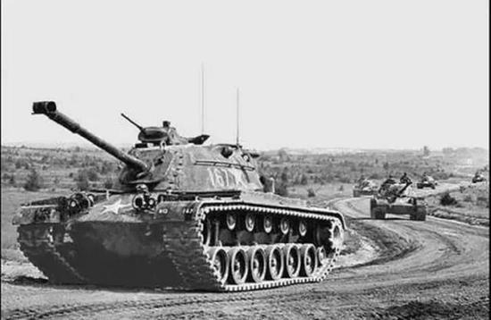 部署在德国的美军坦克