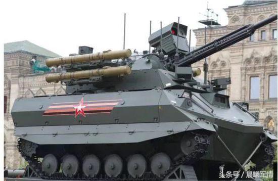 俄罗斯军事变革的最新代表 横扫叙战场的地面机器人