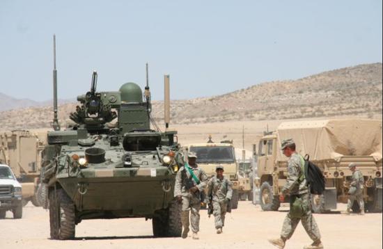 美步兵旅将转型为装甲旅 升级重装备欲对抗中俄陆军