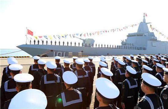 南昌舰入列大驱时代来临 中国下一代大舰将是巡洋