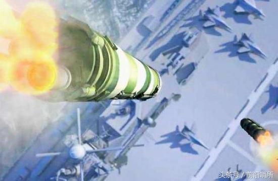 东风-21D模拟攻击图