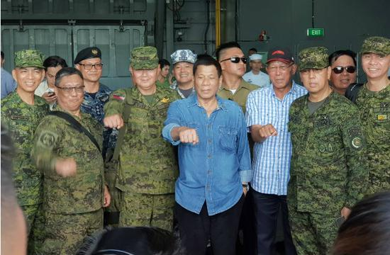 杜特尔特:中国不会坐视菲律宾被摧毁比美更靠得住