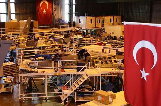 图为土耳其的F-35零部件工厂,该厂在危机后也面临停工。