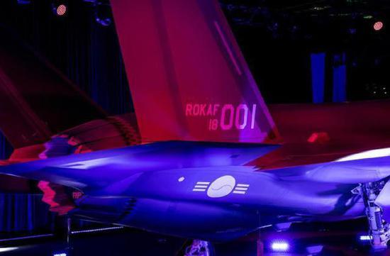 韩国首架F-35A正式下线举办庆祝仪式