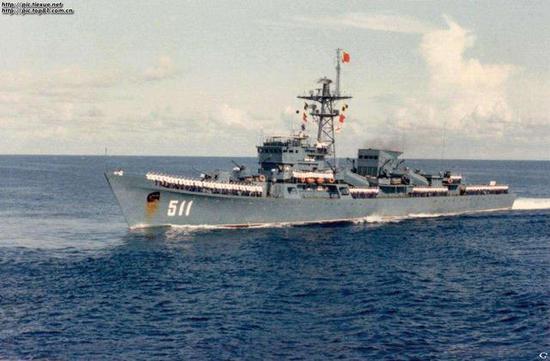 图片:053H型除九江舰之外均已退役