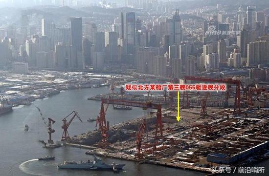 中国造船厂盛况