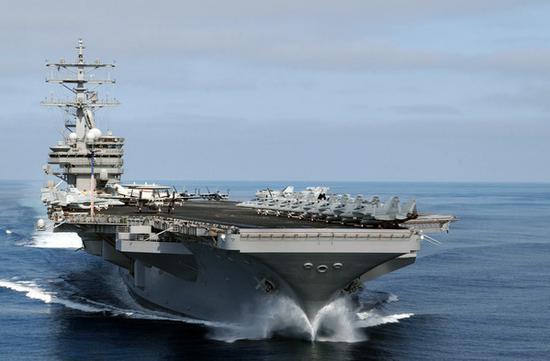 美国里根号航母编队将访问香港 相关行动已获批准