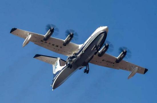 中国AG600水上飞机gggggbbbb,灭火适用范围很窄,费用极高