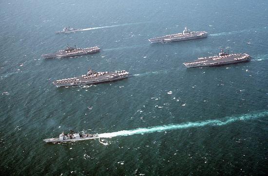 美对以色列最大的一次支持 曾用4艘航母包围叙利亚是妃之地 王爷 慎入