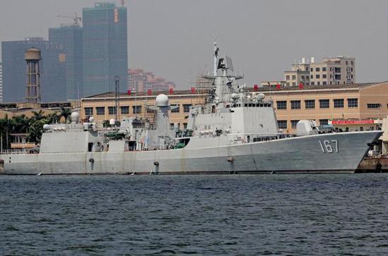 """巴基斯坦最大战舰并非中国054A 曾有一艘""""巡洋舰"""""""