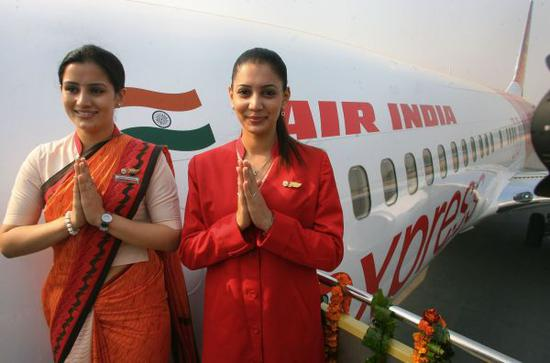 印度航空公司的空乘人员