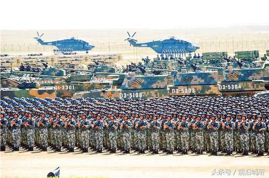 资料图:中国陆军