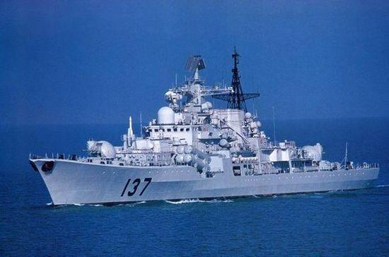 """我国""""现代""""级驱逐舰"""
