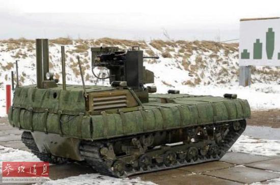 俄军将派3款机器人赴叙:加大打击力度令IS无处容身