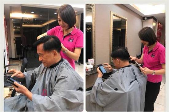 陈水扁晒照秀发型 台网友:手不抖该回监狱了