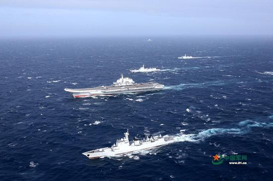 俄媒:美日联手侵犯蚕食 促使中国派出航母战斗群