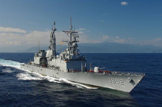 台湾战舰维护迟缓 台军:都是依照美军标准保养的
