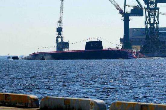 圖爲日本蒼龍級柴電潛艇