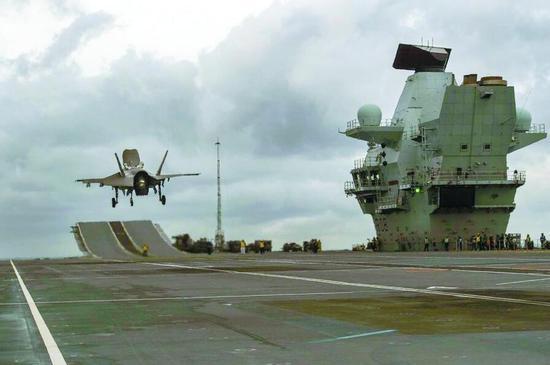 英军欲派航母赴南海遭各方打脸 美媒一语戳破弱点
