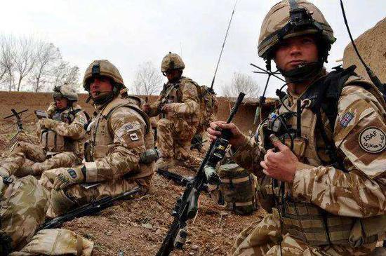 """英军组建神秘部队 只为打好军事领域""""口水战"""""""