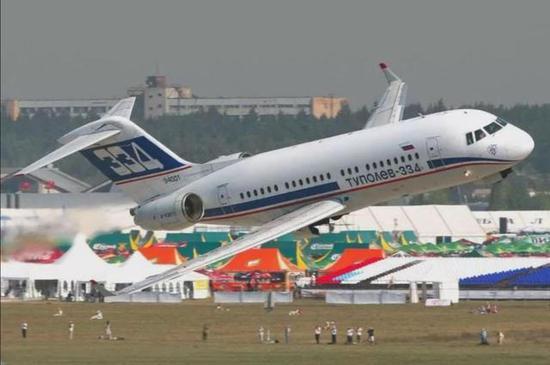 俄国产客机图334为何没人要 跟中国运10下马很相似