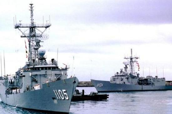 台湾海军将进行大规模演习 实力还不如解放军的零头