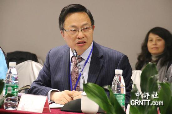 上海台湾研究所常务副所长倪永杰(图片来源:中评社)