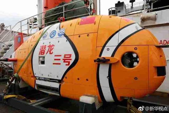 中国最先进潜龙三号潜水器首次亮相 赴南海海试(图)李永波的老婆谢颖