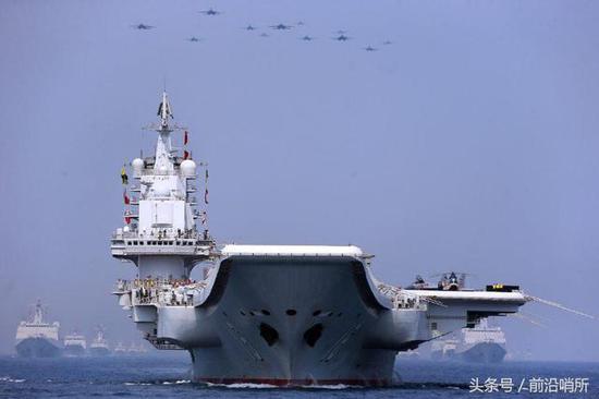 中国海军海上阅兵式