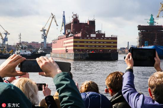 俄罗斯浮动核电站首航 中国的还会远吗?(图)