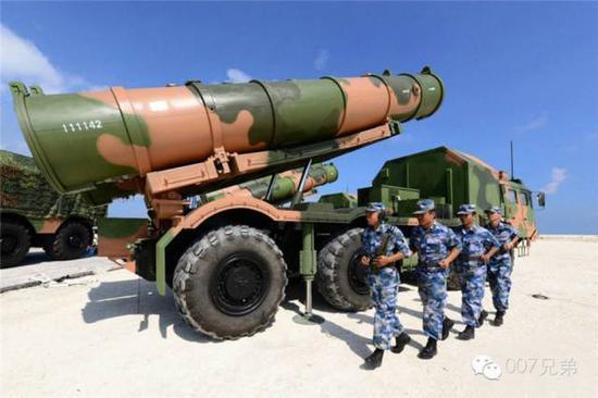 南部战区海军鹰击-62岸舰导弹。图片来源见水印。