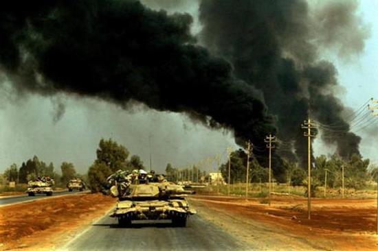 美军坦克快速突破