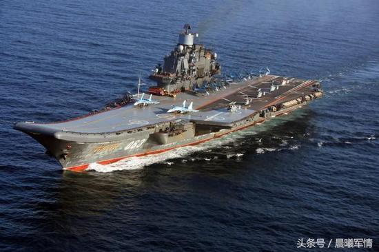 俄军数年之内无航母可用 可委托中国修建或借辽宁舰