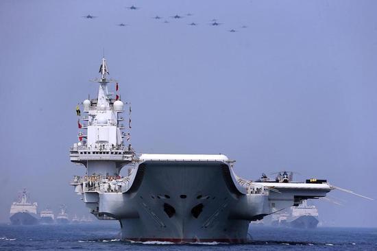 美媒炒作中国将成海上霸主:大造军舰并打造全球基地|中国海军