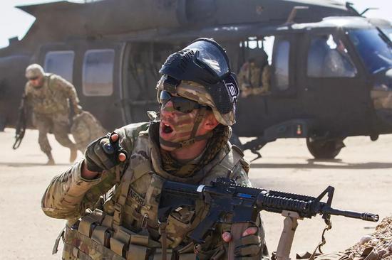 """美陆军提出""""多域战""""概念 明确六大优先发展项目"""