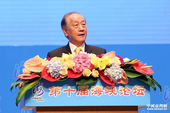 台湾新党主席郁慕明:我们是追求中国统一工作者