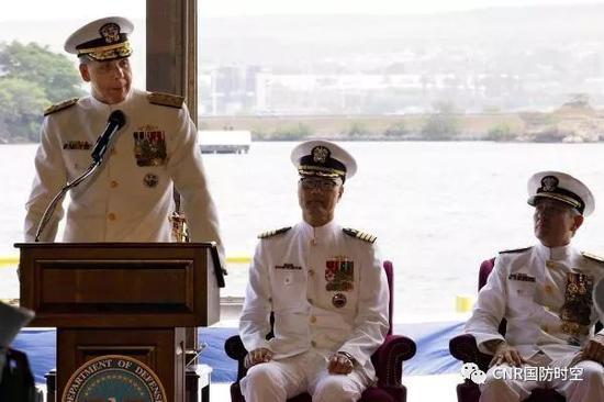 ▲美海军上将菲利普·戴维森出任印太司令部司令。