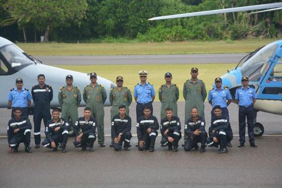 """马尔代夫决定送走印军""""赠送""""直升机 或接收新装备"""