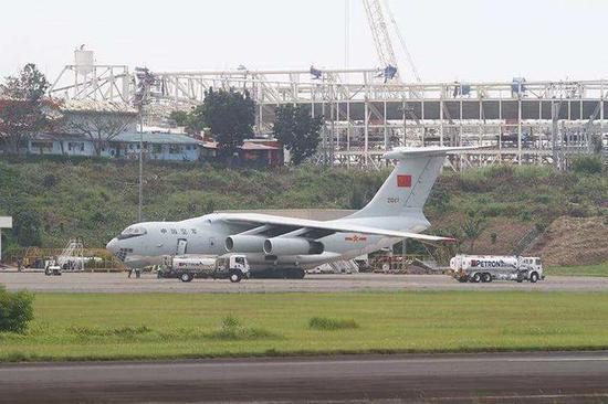 中国军机降落菲律宾引外媒恶意揣测 菲官方称合情合理