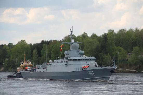 俄高官称俄新战舰可出口中国 舰上却用中国发动机