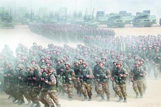 今年年初开始,解放军就拉开了练兵热潮