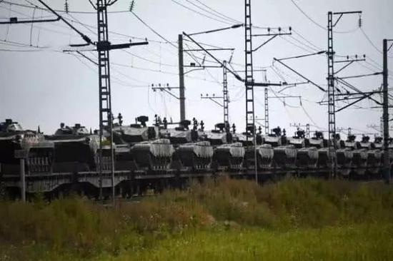 中俄最大军演震动西方 中国参演一个旅就能顶一个师